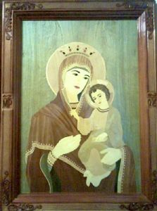 HOLY VIRGIN MARY WITH CHILD