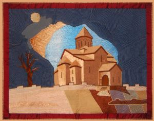 Georgian Church at Night