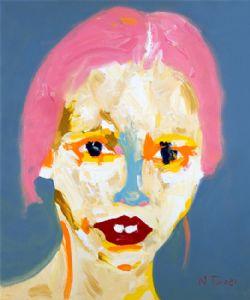Portrait de Lara Stone (Portrait of Lara Stone)