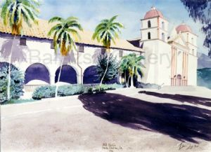 Santa Barbara Mission California