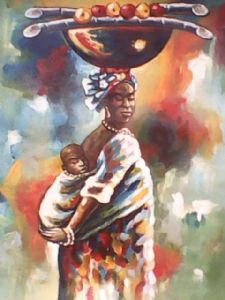 badu,isaac opoku-Mother and child