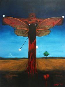 Cicada Cruxified