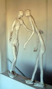 2 White Figures