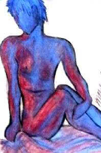Red and Blue Figure