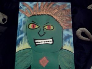 pamula,michael-Blanka from Street Fighter