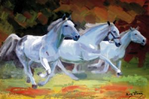 Bogatean,Calin-White horses