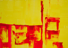 Red and Yellow Abstract 2