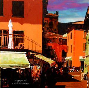 Diggin,Stephen-Market Stalls - Lake Garda