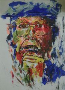 Potrait Of Chinua Achebe