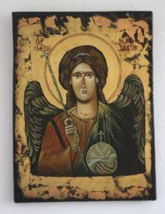 B-Byzantine Icon- Arh. Mihail