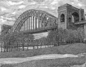 Hell Gate Bridge Astoria