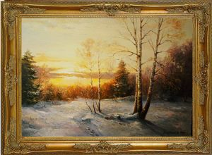 Bartkevich,Jan-winter landscape