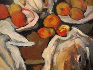 hilman,larry-studying Cezanne