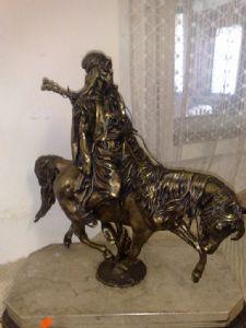 Bronze statue 1860