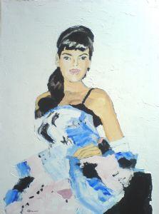Glazer,Joanna-Blue Dress