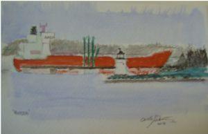 Mattea docked at Spring Point