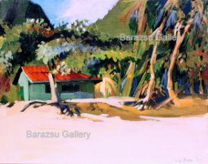 Barazsu,Dave-Moorea Hut French Polynesia