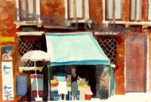 Street Shop Venice Italy