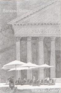 Barazsu,Dave-Pantheon Rome Italy