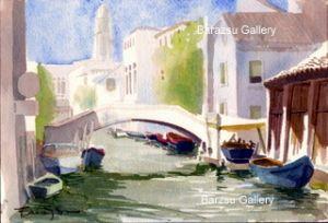 Boats Venice Italy