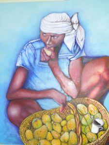 Haitian Women at Market