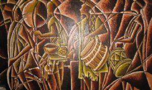 hausa war dancers