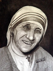 Mather Teresa -- Sample Portrait