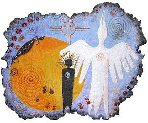Flight of the shaman