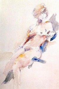LEHNER,mARTina-nude to sit blue