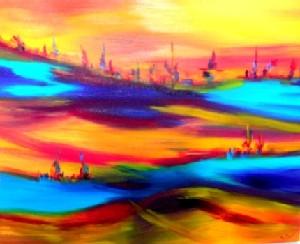 Cayet,Muriel-Bleu desert