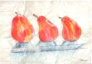 Still Life on Rice Paper #8