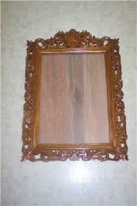 MianStarr,Carol-Imran-EXPRESSIVE STYLE - Hand Carved Wooden Frame for Mirror, Picture, Painting etc. in Solid Teak Wood