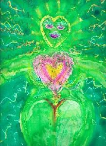 Pink Heart Goddess