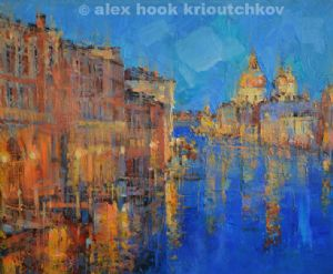 Hook Krioutchkov,Alex-Venice at night
