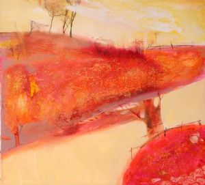 Rosy landscape