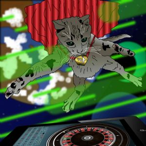 Jack,Black-Cat attacks iphone casino app