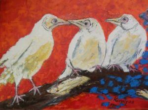 Three white crows