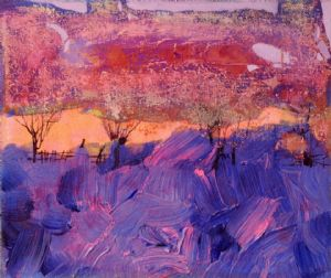 Biganti,Zarina-Violet landscape