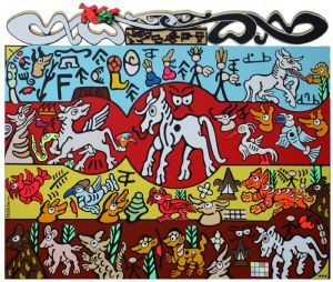P168 - The horse's origin according to the Dongbas priests of Naxi - 2012