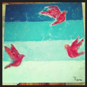 gradient 3 birds