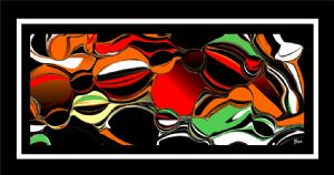 TATAR,Ziya-Abstract art