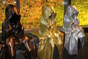 Kielnhofer,Manfred-Guardians of Time - contemporary art sculpture by Manfred Kielnhofer