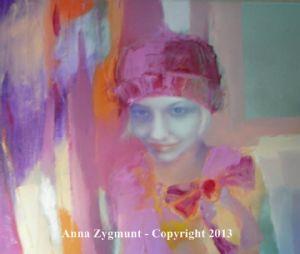 For Anna, oils, 2012