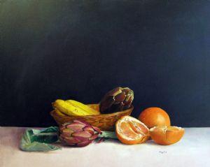 Lorenzo,Antognetti-Natura morta con aranci