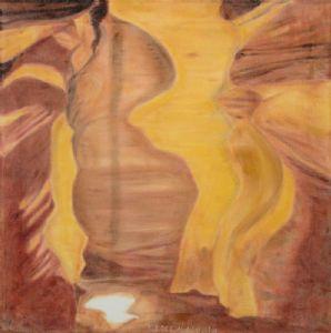 Luethi (alias Abdelghafar),Claudia-Cave playing with the light of the sun