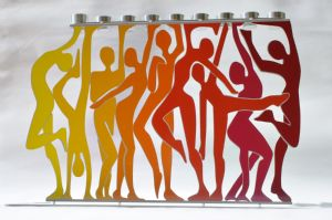 The Dance Menorah  by Rinat Laor