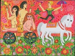 Lady Godiva on a Chariot