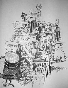 zipp,jefferson-Royal Ascot hats and handbags
