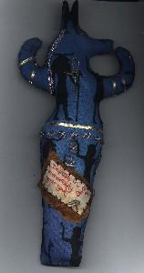Anubis In Blue