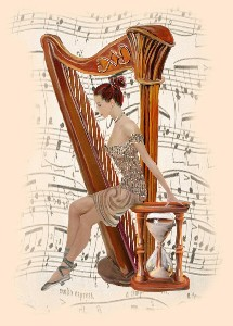 Ballet and the Harp